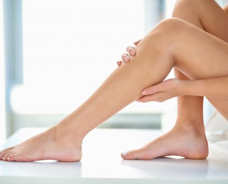 legs and wax